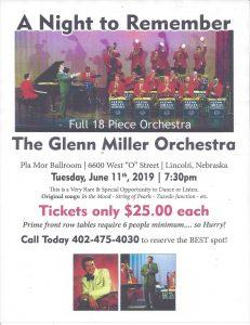 Glenn Miller Orchestra at Pla Mor Ballroom